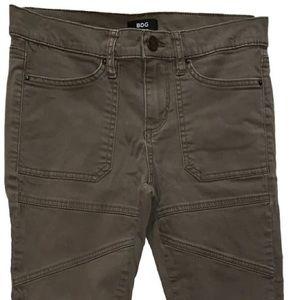BDG Olive Green Medium Wash Skinny Jeans 26